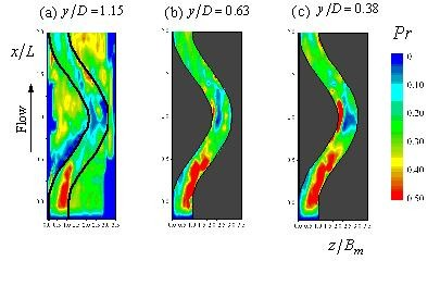 image : 3-D structure of horizontal vortex in compound open-channel flow
