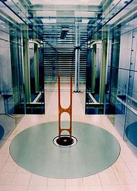 風洞実験施設の写真